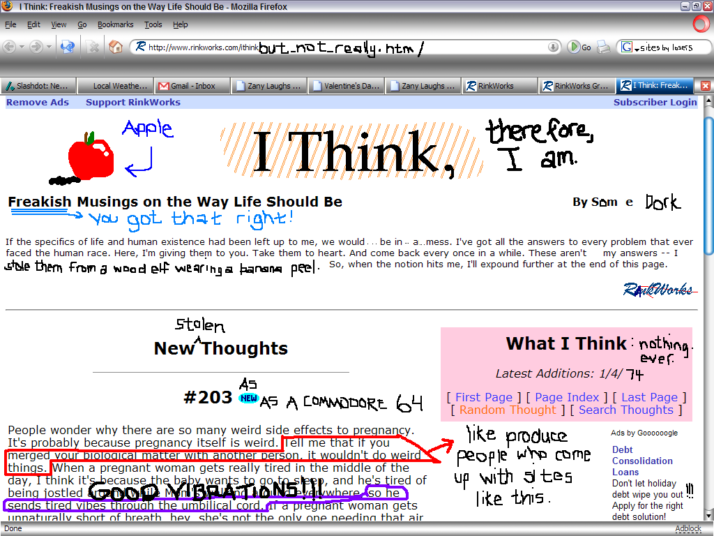 I think therefore i am essay